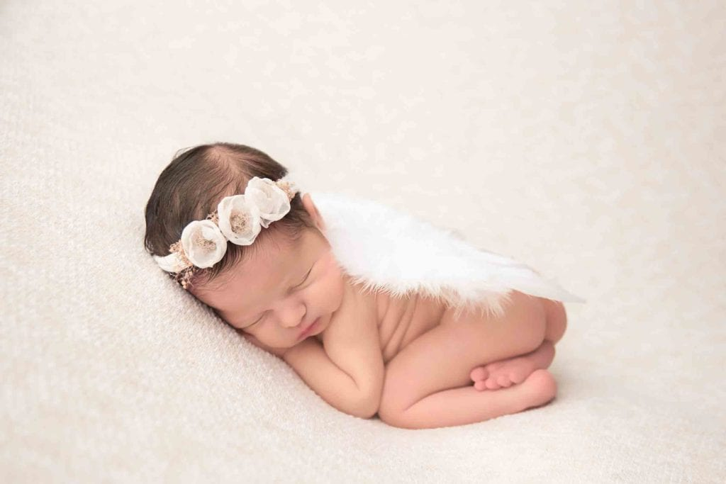 Newborn Photoshoot for Columbus Ohio Newborn