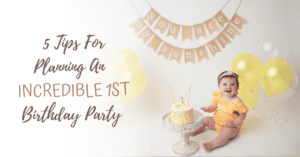 5 Tips for Planning an Incredible First Birthday PartyJoanna Andres Photography: Baby's First Birthday